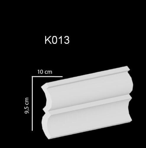 MUSTER Zierleisten Styroporleisten Stuckleisten 100x100mm  K 13