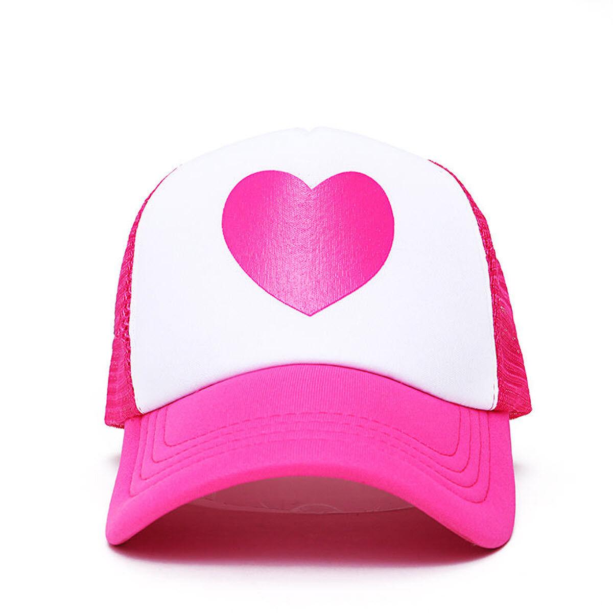 248c9a3af Mabel Pines Pink Heart Trucker Hat Gravity Falls TV Show Baseball Cap  Costume