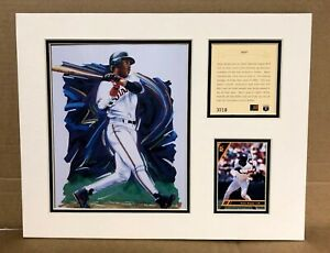 San Francisco Giants BARRY BONDS 1994 Baseball 11x14 MATTED Kelly Russell Print