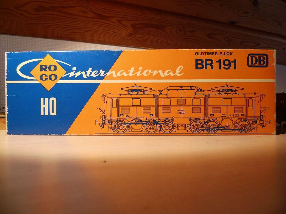 Modeltog, ROCO El-lokomotiv, skala HO