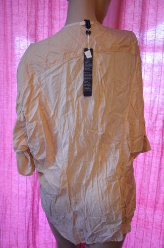 Manches Avec Magnifique Taille Courtes Étiquettes High Chemise Neuf 40 Use Femme gg7wq5rz