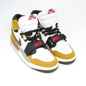 Air-Jordan-Legacy-312-Rookie-of-the-Year-AV3922-102-sz-8-5-White-Brown-Wheat-Red