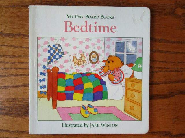 My Day Board Books: Bedtime - Jane Winton (Vintage 1995) - Acceptable