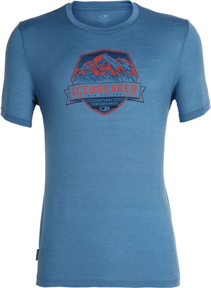 Icebreaker Uomo Shirt uomini Tech Lite SS Crewe Cook CREST 401