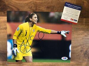 Hope-Solo-Signed-8x10-US-National-Soccer-Team-Photo-Autographed-AUTO-PSA-DNA-COA