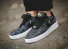 Nike Lab AF1 Air Force 1 Ultra Flyknit Low QS Quai 54 Black White Oreo UK Size 6