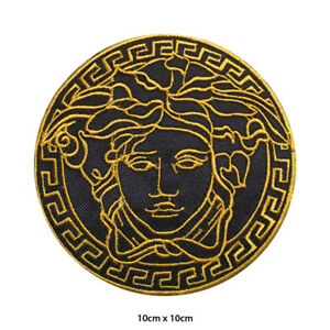 Medusa Head Embroidered Patch Iron on Sew On Badge For Clothes Bags etc