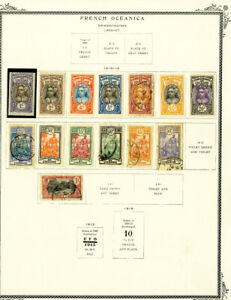 French-Polynesia-amp-Oceanica-1906-to-2000-Popular-Stamp-Collection