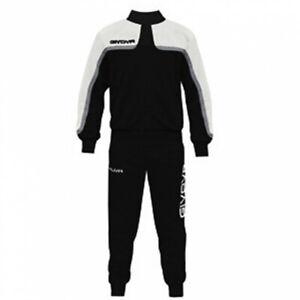 Tuta-Givova-Oceania-Suit-Uomo-Donna-Bambino-Unisex-Zip-Running-Sport-Ginnastica