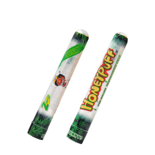 HONEYPUFF 3 Tubes Flavored Pre Rolled Cones 78MM Clear Non Rolling Cones
