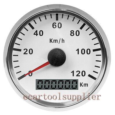 GPS Speedometer Stainles Waterproof Gauge 200MPH 300KMH Car Truck Van 12//24V DIY