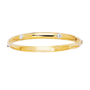 Image Is Loading 14k Gold 2tone Nail Head 4 2 Mm