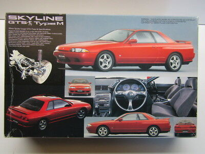 Fujimi 1:24 Scale Nissan Skyline Gts-t Type M Model Kit New # 03217-800 Relieving Heat And Sunstroke Cars