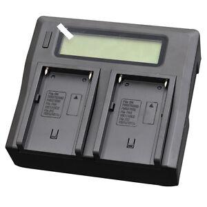 LCD-Quick-Battery-Charger-For-Sony-BC-VM10-NP-FM500H-NP-FM50-FM90-QM71D-QM91D