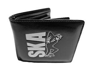 Warrior UK England Ska 2-Tone PVC Wallet Geldbörse Portemonnaie Skinhead Punk