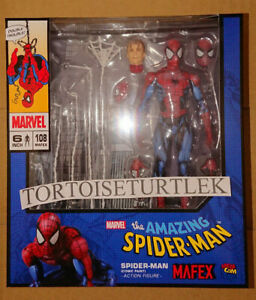MAFEX-SPIDER-MAN-Comic-Paint-Action-Figure-Marvel
