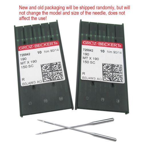 20PCS Groz-Beckert MTX190 Needles FIT FOR PFAFF 145 190 545 595 1245 1545
