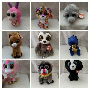 TY BEANIE BOO BABIES PLUSH SOFT TOY BIG EYES NEW OFFICIAL WITH TAGS