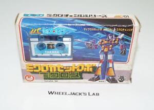 Frenzy Micross Mc-01 Transformateurs de Microman Pre G1 Bleu Micro Change Takara