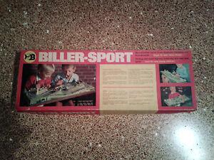 Vintage 60's Biller-Sport Nr.1420 Minisport Electric B\O Race game in Box
