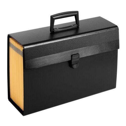 Pendaflex Portafile Expanding Organizer 15 1//8x 10 5//8 Black 01156