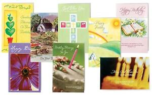 Image Is Loading Christian Birthday Cards Value Pack Of 24