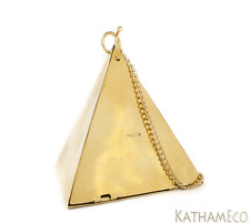 NEW Mettle Vegan and Recycled Jupitar Triangle Bag in Gold