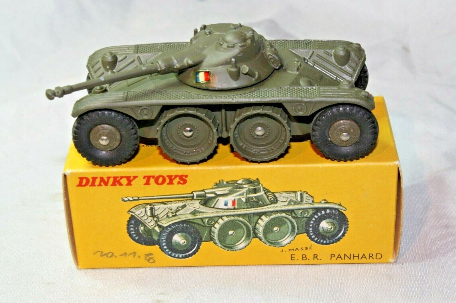 Dinky France 80a Panhard EBR, Mint in Shop Fresh Mint Original Box