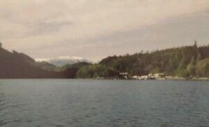 Minstrel-Island-B-C-Vintage-Postcard-Radio-Telephone-Traveltime-Made-In-Canada