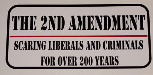 2ND AMENDMENT Decal  FREE SHIPPING