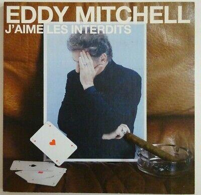 EDDY MITCHELL : J'AIME LES INTERDITS ♢ DELUXE CD PROMO ♢   eBay