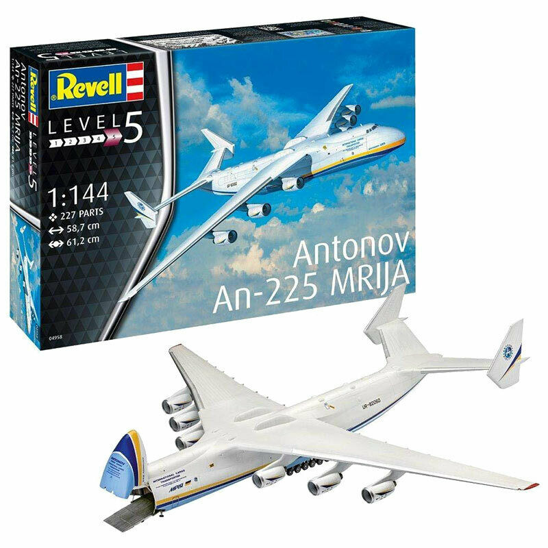 REVELL Antonov An-225 Mrija 1 144 Aircraft Model Kit 04958