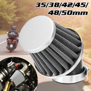 38mm-50mm-Air-Filter-POD-Cleaner-For-Honda-Suzuki-BIKE-DIRT-ATV-QUAD-Motorcycle