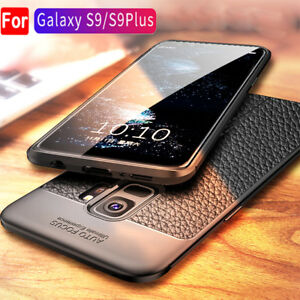 Auto-Focus-PU-Leather-Silicone-Case-For-Samsung-Galaxy-S9-Plus-A8-2018-A7-Cover