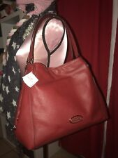 Coach Edie Shoulder Bag in Pebble Leather - 33547 for sale online  4bd2648a1c94b