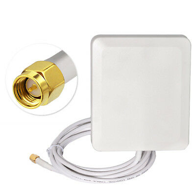 10-Pack 2.4GHz 3dBi Antenna SMA Male Connector for WiFi Booster Signal Amplifier