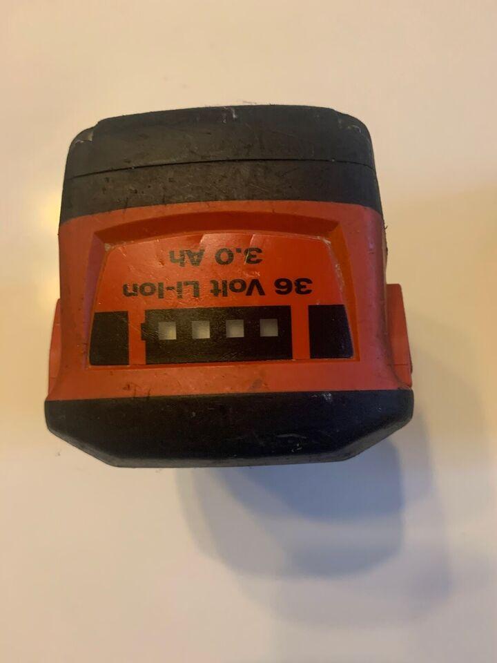 Batteri, Hilti