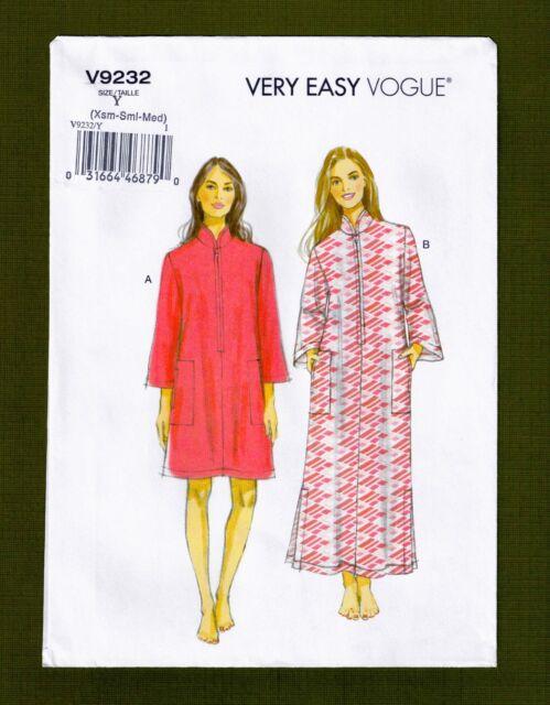 Vogue V9232 4-14 Sewing Pattern Mom & Grandmas Easy Lounging Caftan ...