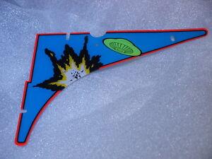 Pinball AFM Attack From Mars Top Upper Left Corner Plastic Original Bally
