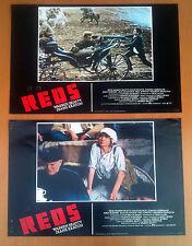 REDS 2 fotobuste poster lobby cards Diane Keaton Nicholson Warren Beatty K37 K38
