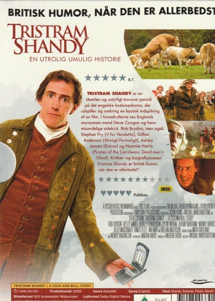 Tristram Shandy / A Cock And Bull Story, DVD, komedie