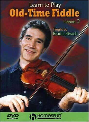 DVD-Learn To Play Old Time Fiddle-Lesson 2 - DVD By Leftwich, Brad - VERY GOOD - $14.96