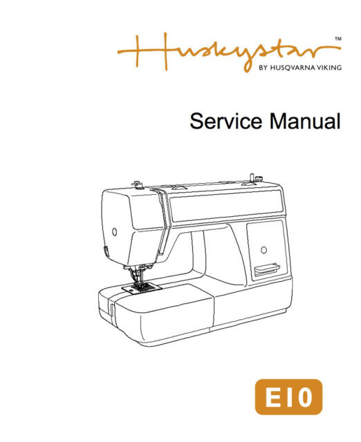 Husqvarna Viking H Class E40 Service Manual Parts Schematics CD Interesting Husqvarna Viking Sewing Machine Repair Manual