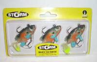 Storm 2 Wildeye Live Sunfish 1/4 Oz Fishing Jig Lure Crankbait