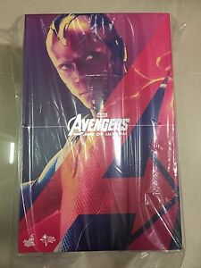 Hot-Toys-MMS-296-Avengers-Age-of-Ultron-AOU-Vision-12-inch-Action-Figure-NEW