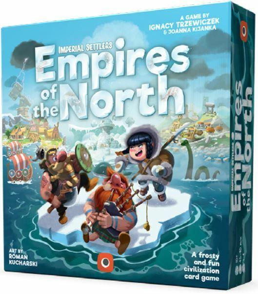 Imperiale Settlers - Empires Of The Nord Gioco da Tavolo