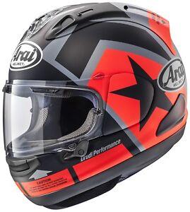 Arai-Rx-7v-Franc-Tireur-Casque-de-Moto-Integral-Sport-Touring-Course-Bialo
