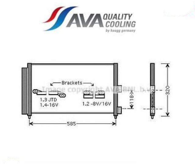 FT5289D-G Condensatore, Climatizzatore (AVA)