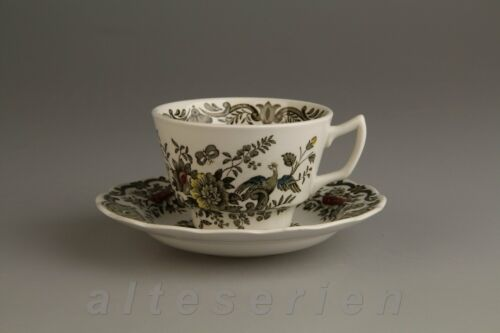 Kaffeetasse mit Untere Royal Doulton Ridgways Windsor grün
