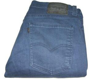 Mens Levi's 511 Line 8 Slim Fit Dark Blue (0129) Stretch Denim Jeans W32 L32